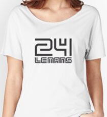 LE MANS Women's Relaxed Fit T-Shirt