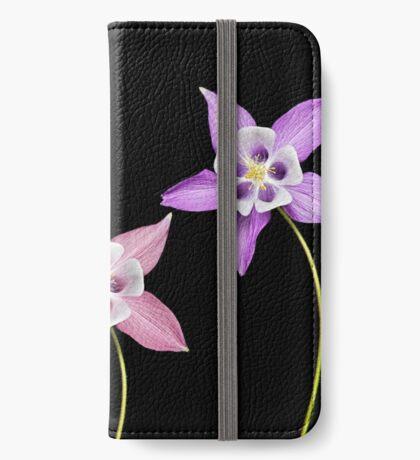 Aquilegia Flower iPhone Wallet
