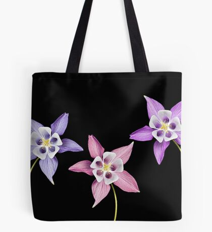 Aquilegia Flower Tote Bag