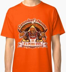 Camiseta clásica Casa de pollo y waffles de Ganondorf