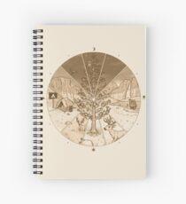 Cuaderno de espiral Lapso de tiempo