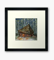 Back to the Shack Framed Print