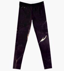 Fractured Crystal Grey tones Leggings