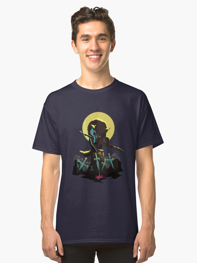 Sif the Great Grey Wolf Classic T-Shirt Front