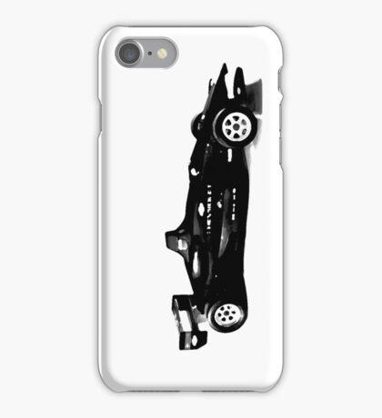 blacked formula 1 race car iPhone Case/Skin