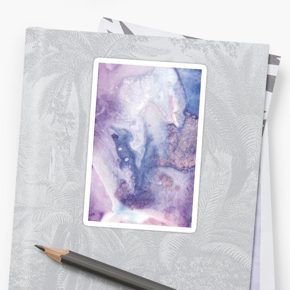 Purple Amethyst Sticker