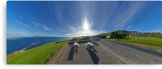Donegal Bay - Panorama by George Row
