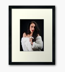 Beautiful Lady Framed Print
