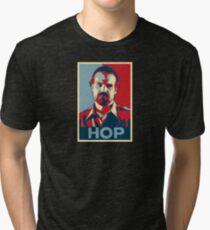 Jim Hopper for President! Tri-blend T-Shirt