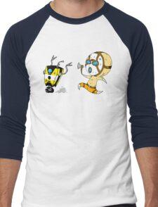 Shut Ya Trap! Men's Baseball ¾ T-Shirt