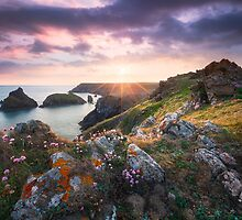 Kynance Cove Magic by Michael Breitung