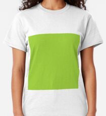 color yellow green Classic T-Shirt
