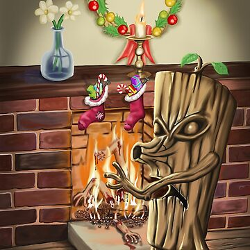 The Yule Logs Revenge by mdkgraphics