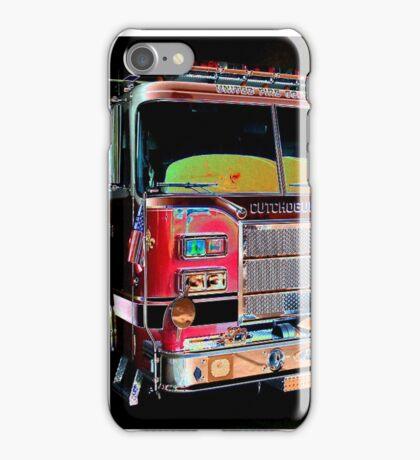 firetruck study iPhone Case/Skin