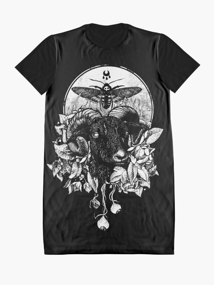Alternate view of Krogl Graphic T-Shirt Dress