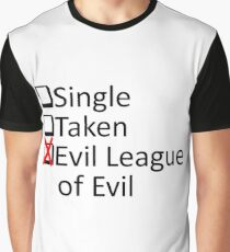 Evil League Of Evil Member Graphic T-Shirt