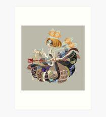Mutation Fairy Art Print