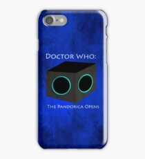 Doctor Who: The Pandorica Opens iPhone Case/Skin