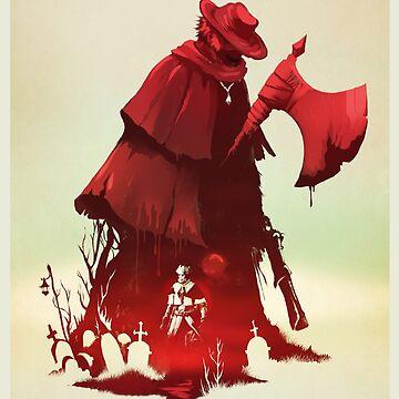 FATHER GASCOIGNE by crowsmack
