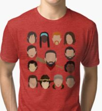 Who did Negan kill? Tri-blend T-Shirt