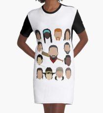 Who did Negan kill? Graphic T-Shirt Dress