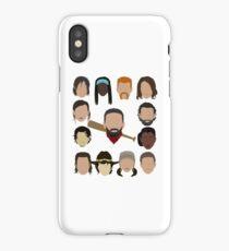 Who did Negan kill? iPhone Case/Skin