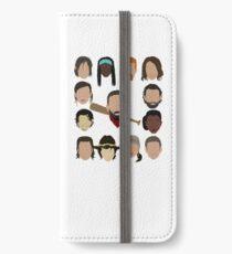 Who did Negan kill? iPhone Wallet/Case/Skin
