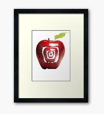 growing apples from apples Framed Print