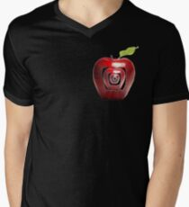 growing apples from apples Men's V-Neck T-Shirt