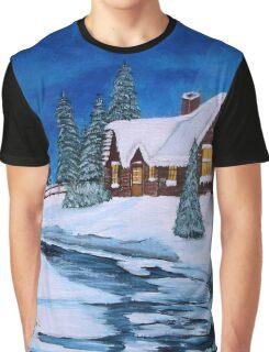 Winter landscape-1 Graphic T-Shirt
