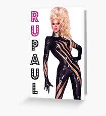 RuPaul Greeting Card