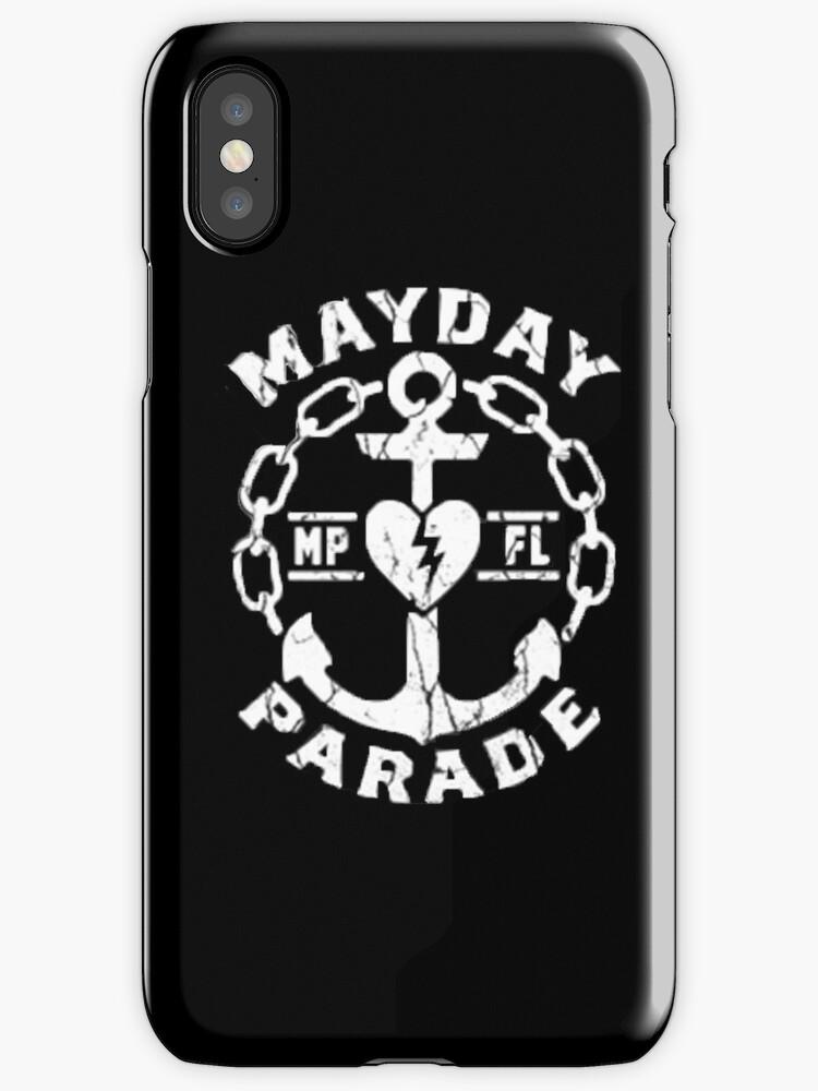 Mayday Parade Logo Iphone Cases Covers By Azkaramadhan18 Redbubble