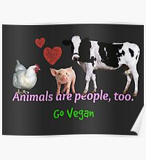 Animals Are People, Too Poster