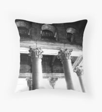 corinthian capitals Throw Pillow