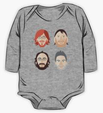 Trey, Fish, Mike, Page as Vector Characters One Piece - Long Sleeve