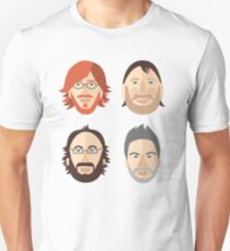 Trey, Fish, Mike, Page as Vector Characters Unisex T-Shirt