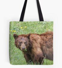 Cinnamon bear Tote Bag