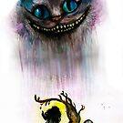 Cheshire cat by Rachel Kelly