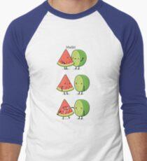 First kiss Baseball ¾ Sleeve T-Shirt
