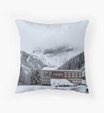 Snowy Trees - Austria Throw Pillow