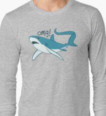 Thresher shark - OMG! Long Sleeve T-Shirt
