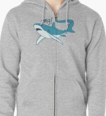 Thresher shark - OMG! Zipped Hoodie