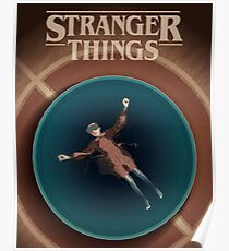 Stranger Things Eleven in the Pool 16x20 Poster