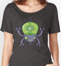 Brainbot Robot with Brain Women's Relaxed Fit T-Shirt