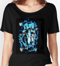 Goku & Vegeta Super Saiyan GoD/Blue Women's Relaxed Fit T-Shirt
