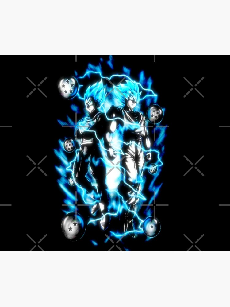 Goku & Vegeta Super Saiyan GoD / Blau von kariimo