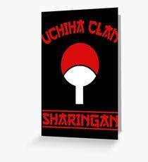 Uchiha Clan Greeting Card