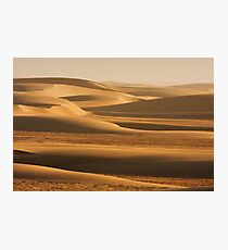 Sunswept sand along the Skeleton Coast Photographic Print