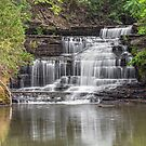 Old Mill Falls on Hector Creek by Kenneth Keifer