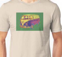 Classic VW 21 window Mini Bus Pop Art Image Unisex T-Shirt